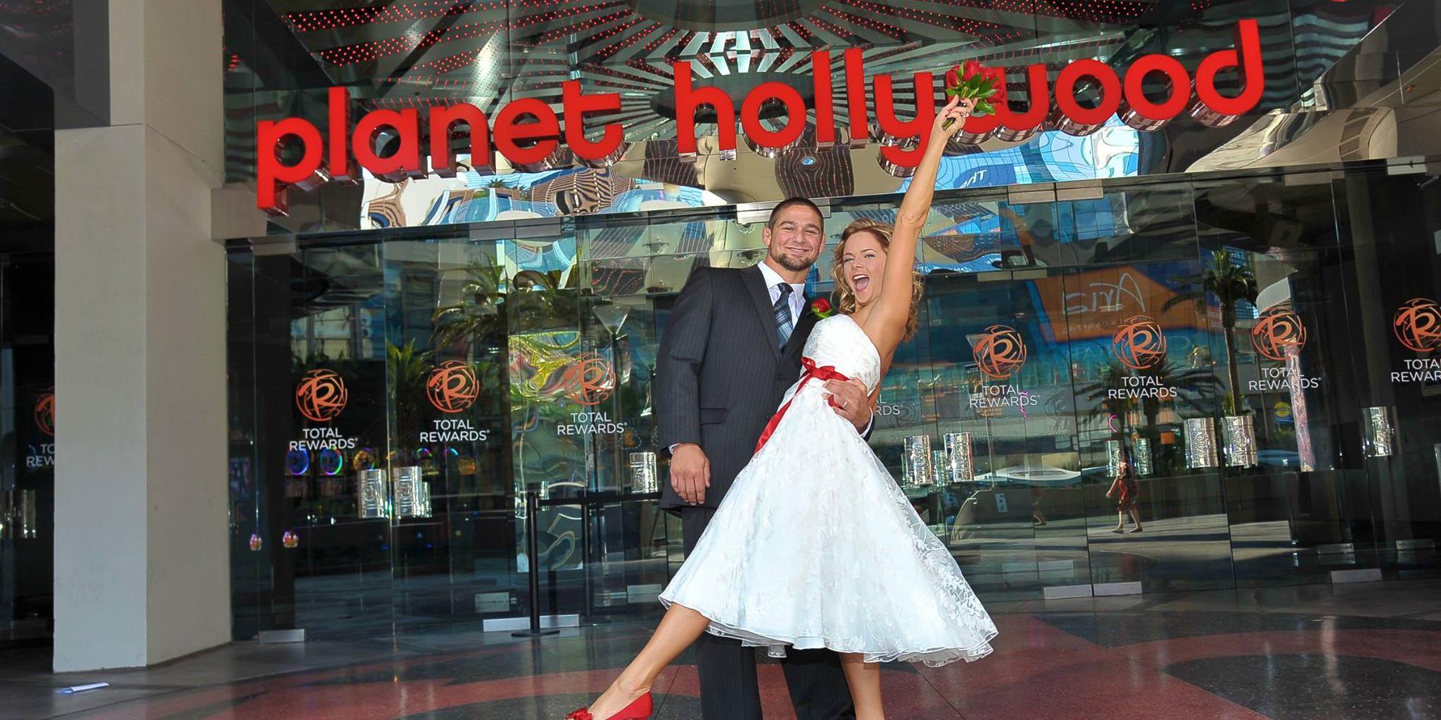The Chapel at Planet Hollywood wedding Las Vegas