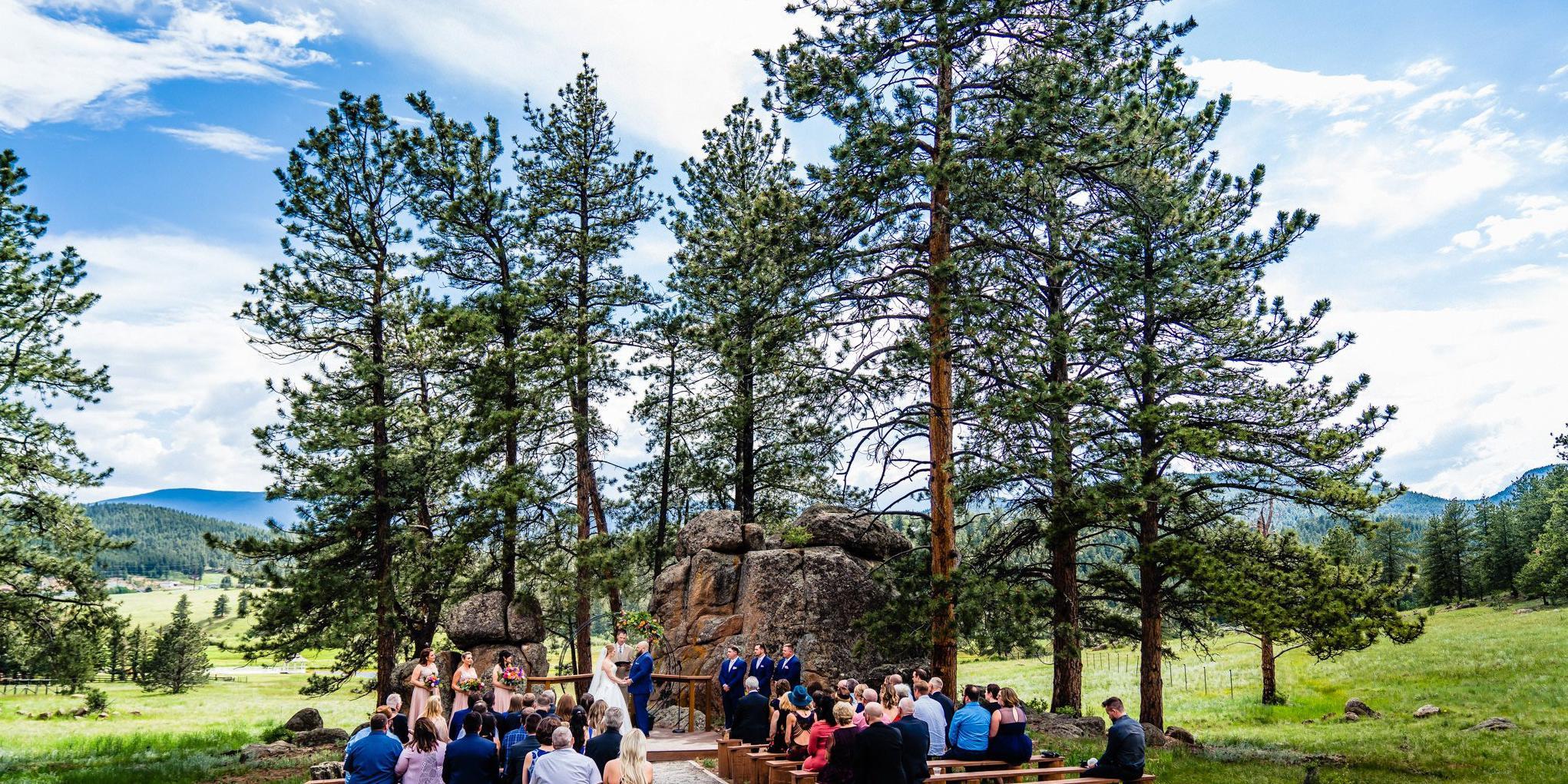 Deer Creek Valley Ranch wedding Denver