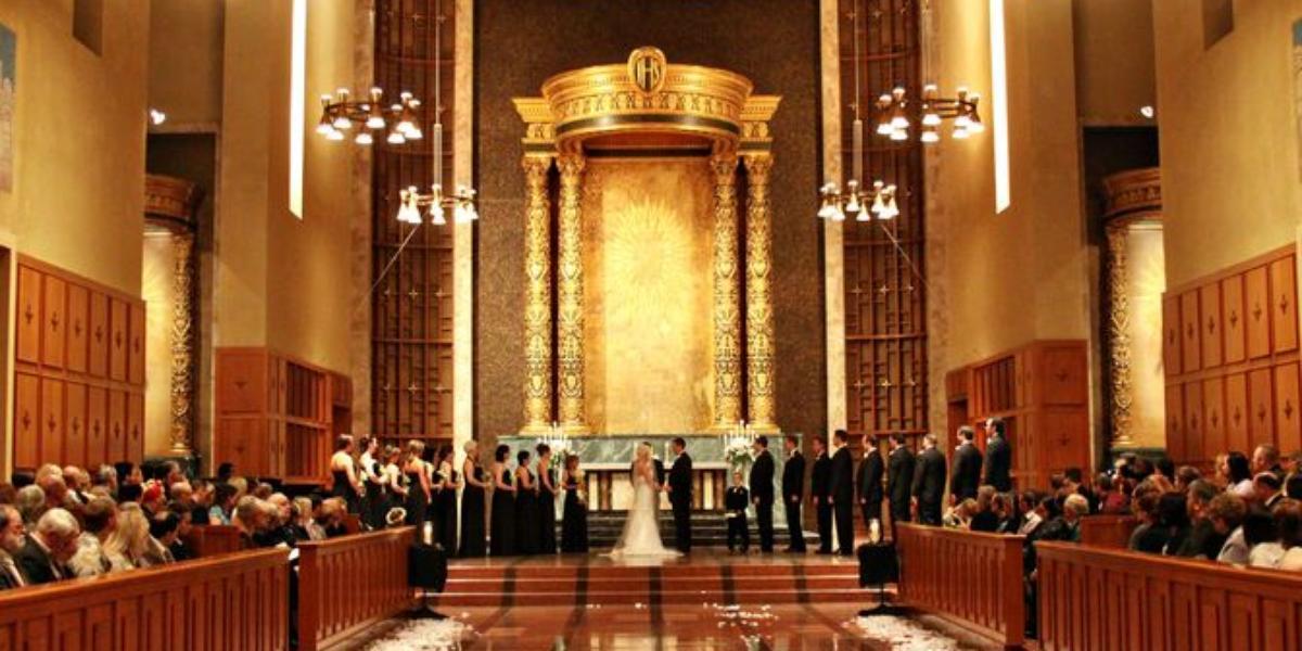 Bastyr University Wedding Chapel wedding Seattle