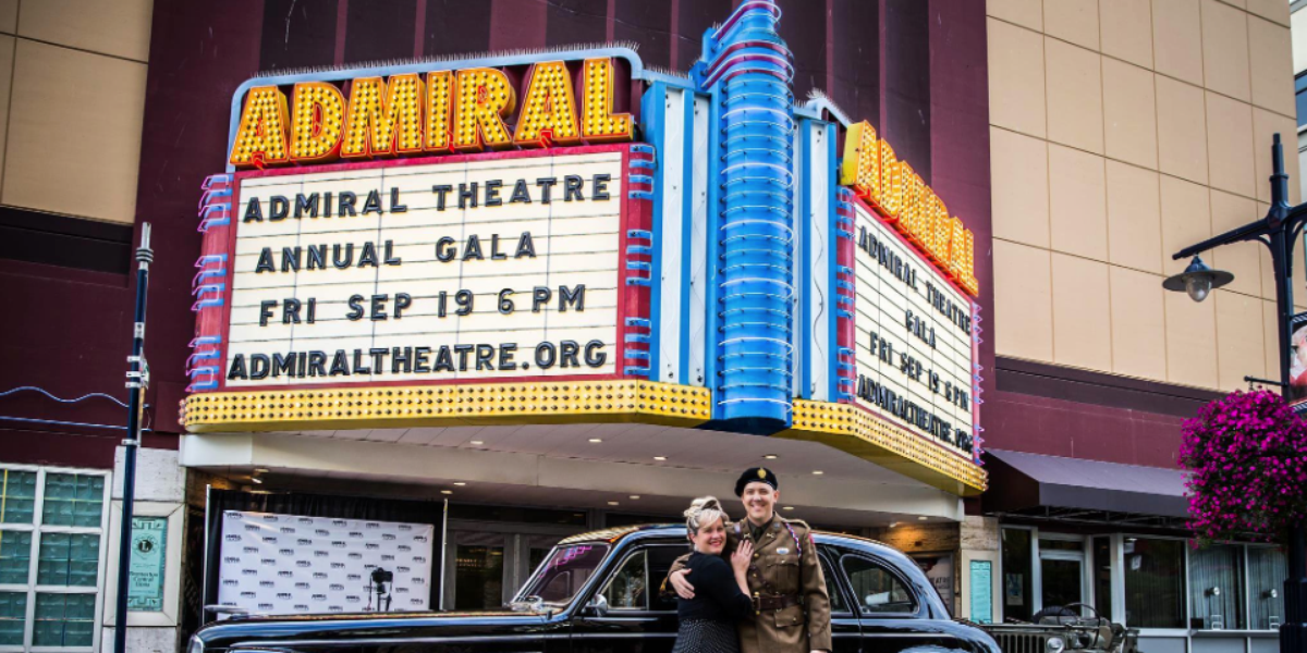 Admiral's Theatre wedding Seattle