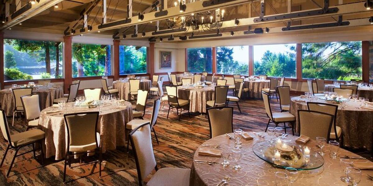 Salishan Resort wedding Coastal Oregon