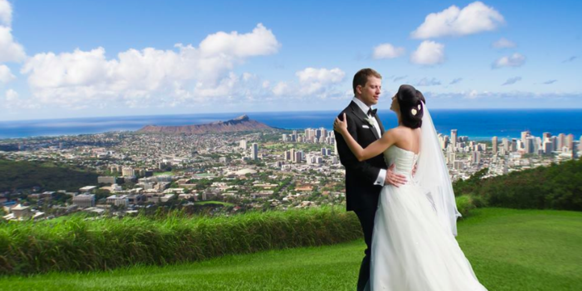 The Honolulu Ridge wedding Honolulu