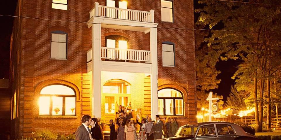 Balch Hotel wedding Mt. Hood