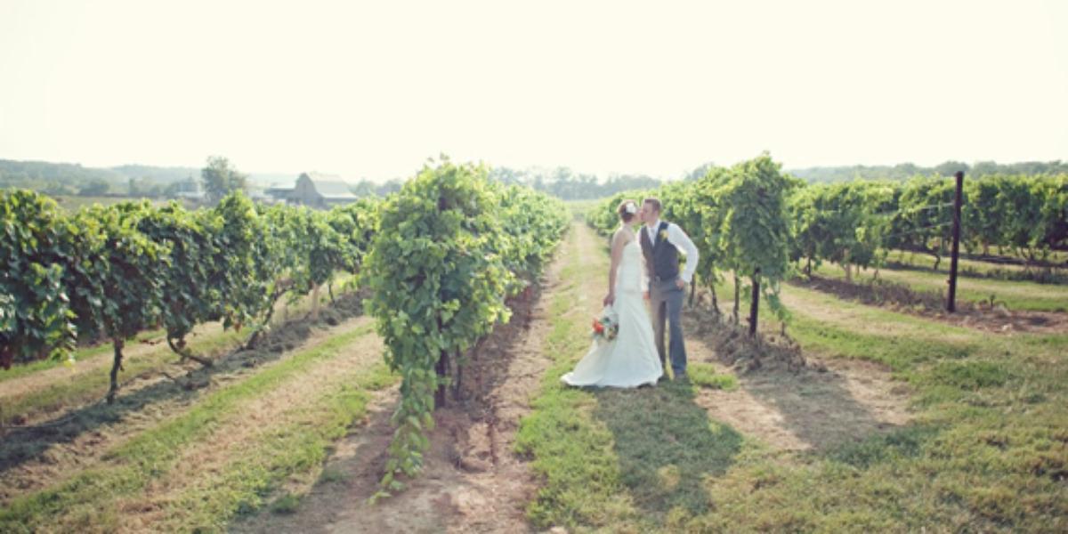 Crown Valley Winery wedding Southeast Missouri