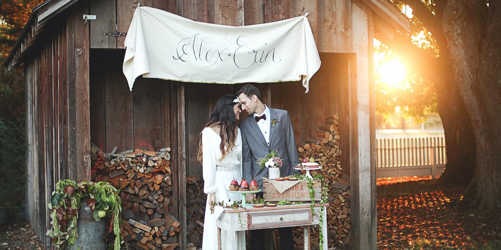 Philip Foster Farm wedding Portland