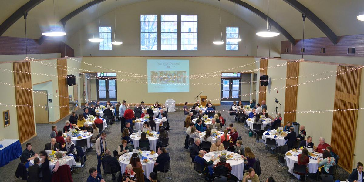 Gilbert Event Center at Eastern Oregon University wedding Eastern Oregon