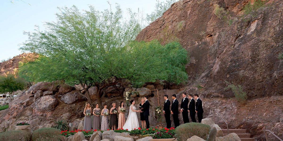 Phoenix Marriott Resort Tempe at The Buttes wedding Phoenix/Scottsdale