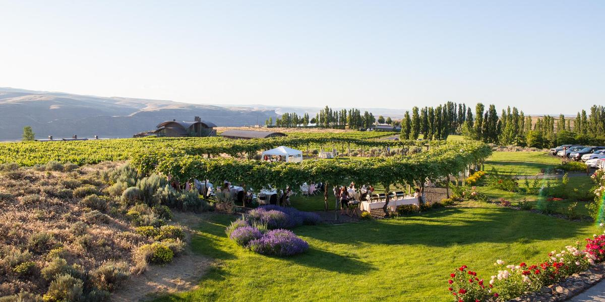 Cave B Estate Winery and Resort wedding Yakima