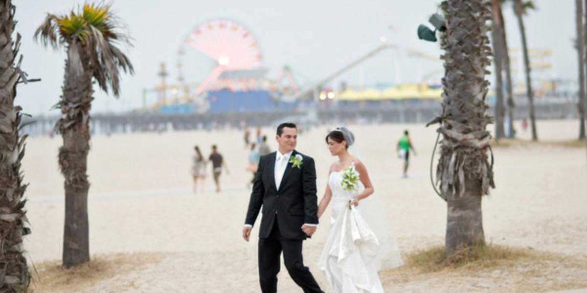 Le Meridien Delfina Santa Monica wedding Los Angeles