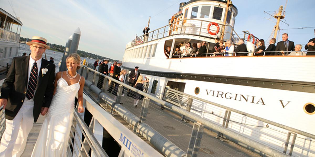The Steamship Virginia V wedding Seattle