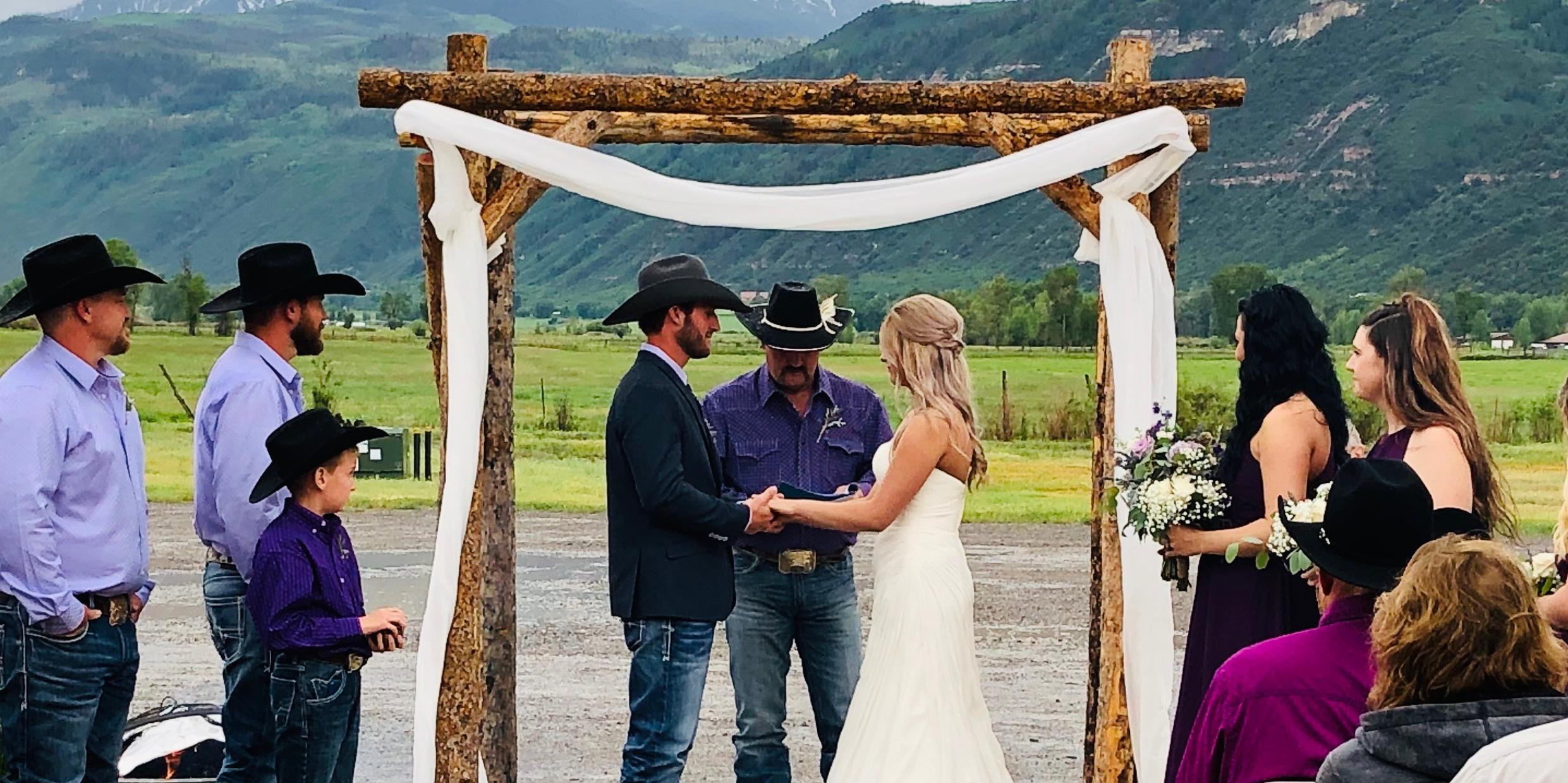 Ouray County  Event Center wedding Aspen/Vail/High Rockies