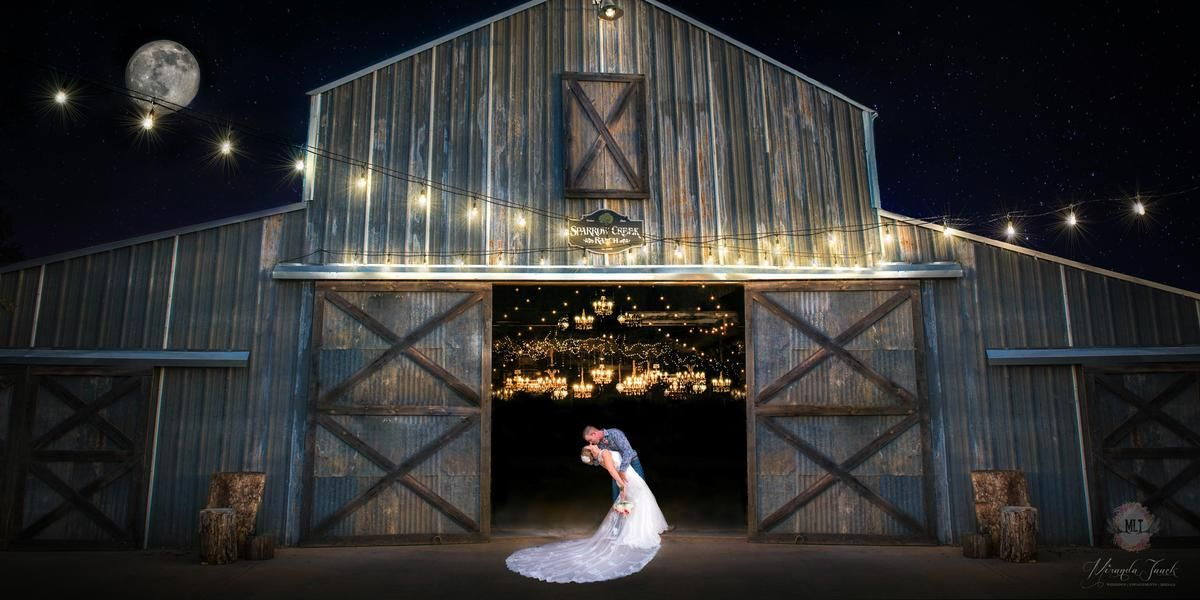Sparrow Creek Ranch wedding Fort Worth