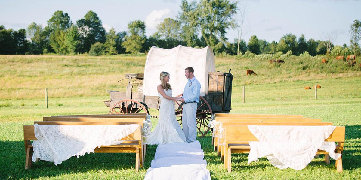 Irons Mill Farmstead wedding Pittsburgh
