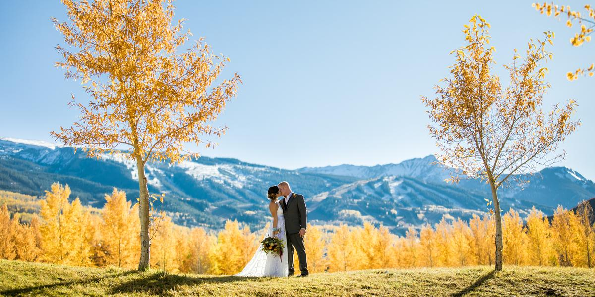 Top of the Village Condominiums wedding Aspen/Vail/High Rockies