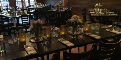 Elk Ave Prime wedding Aspen/Vail/High Rockies
