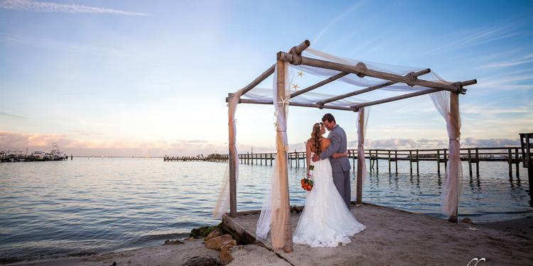 Capt Hiram's Resort wedding Central Florida Beaches/Coast