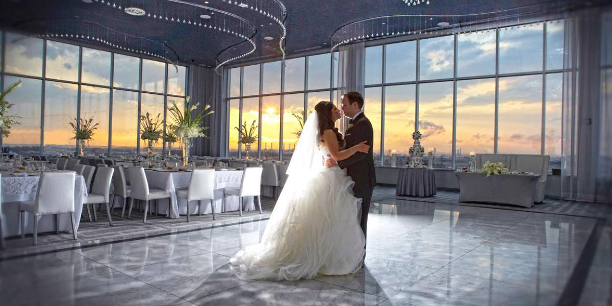 Above wedding Staten Island