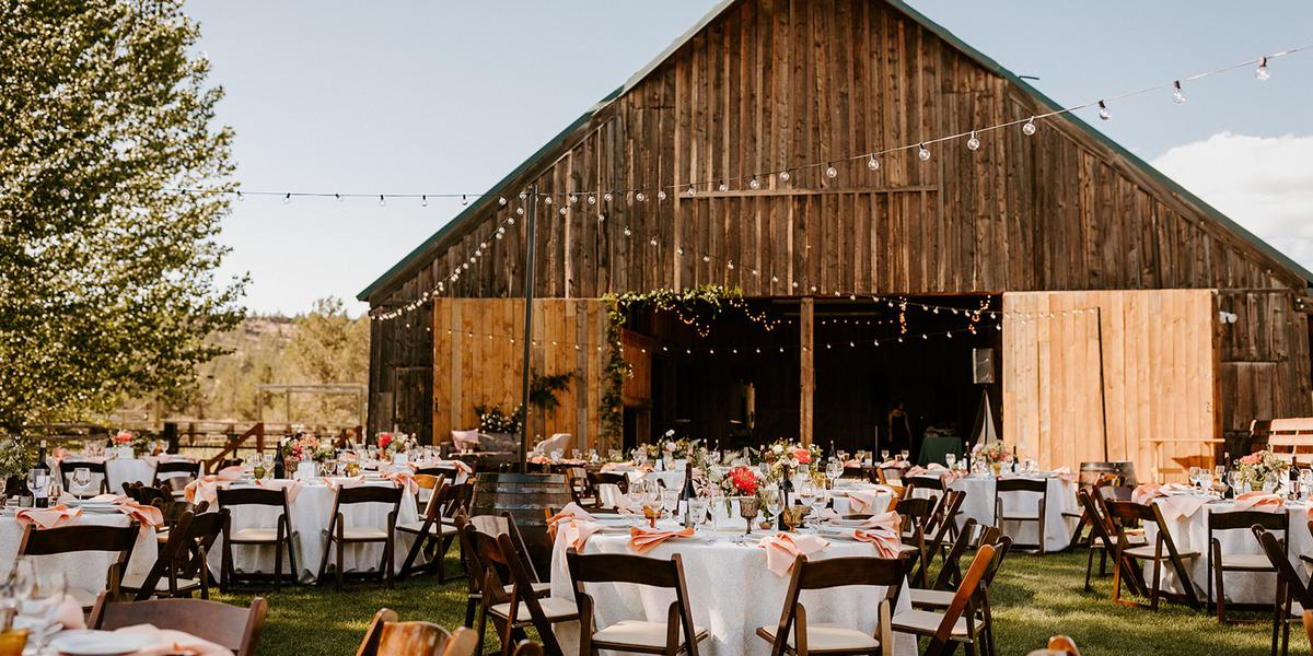 Long Hollow Ranch wedding Willamette Valley