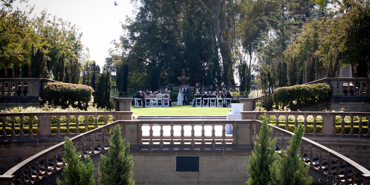 Greystone Mansion & Gardens wedding Los Angeles