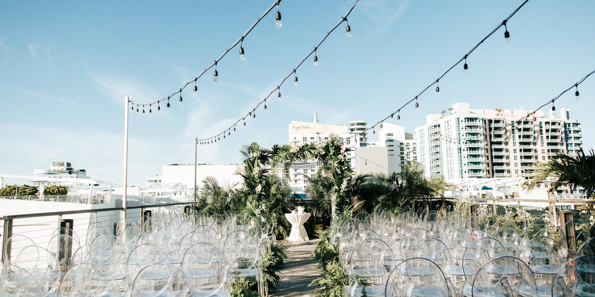 The Betsy - South Beach wedding Miami