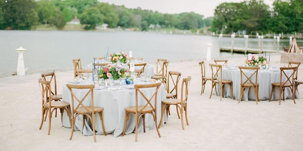 The Tides Inn wedding Richmond