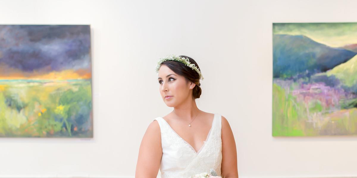 The Ward Center for Contemporary Art wedding Virginia Beach