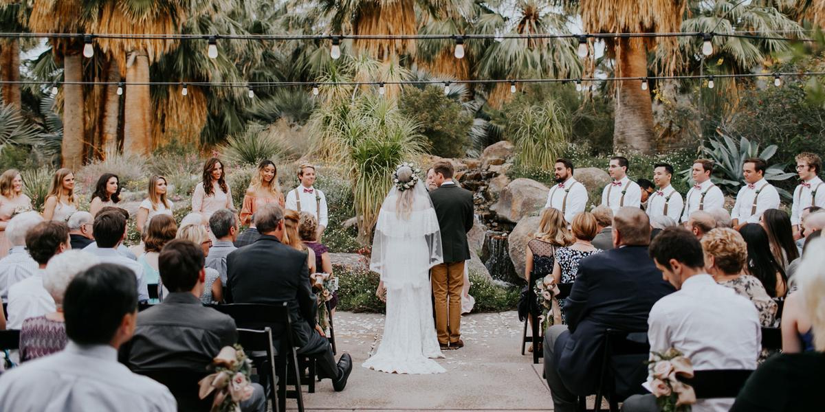 The Living Desert Zoo & Gardens wedding Palm Springs