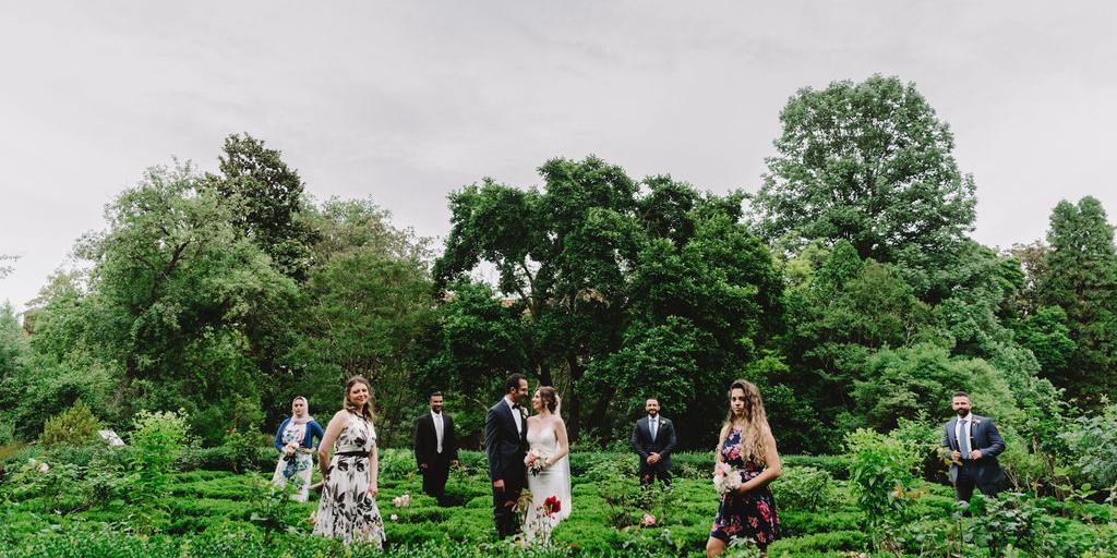 Tudor Place Historic House And Garden wedding Washington DC