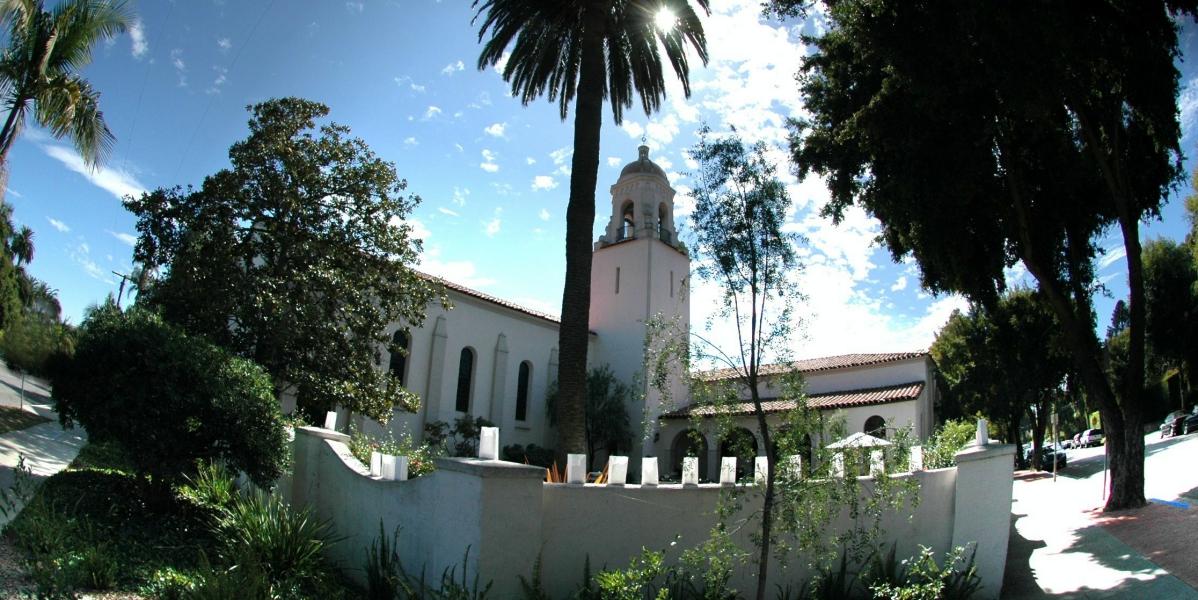 Unitarian Society of Santa Barbara wedding Santa Barbara