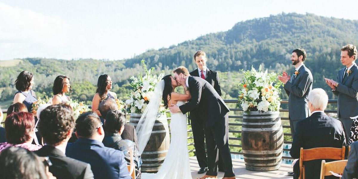 Sbragia Family Vineyards, a Milestone property wedding Napa/Sonoma