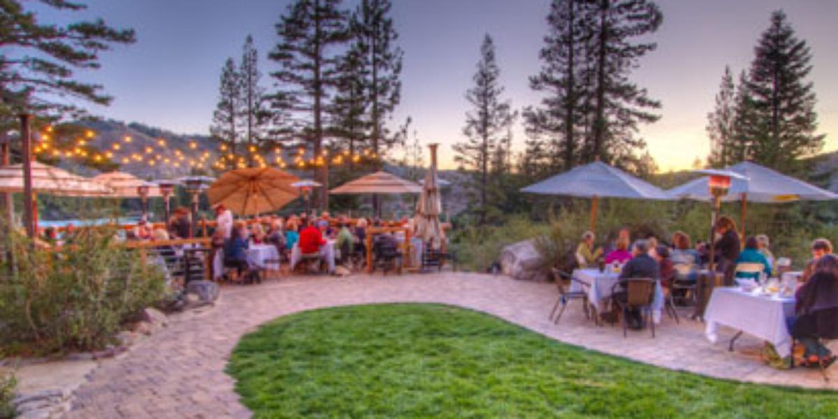 Lake Mary Dining wedding Tahoe