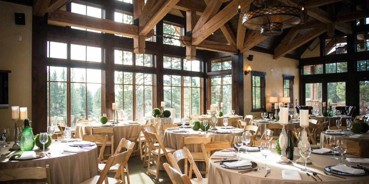Old Greenwood House wedding Tahoe