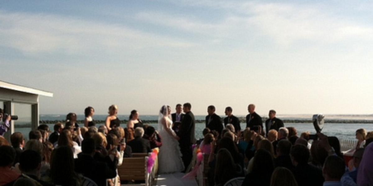 Harrison's Harbor Watch Restaurant wedding Eastern Shore/Chesapeake Bay