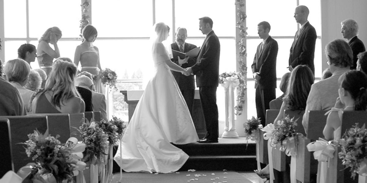 The Chapel on Echo Bay wedding Tacoma
