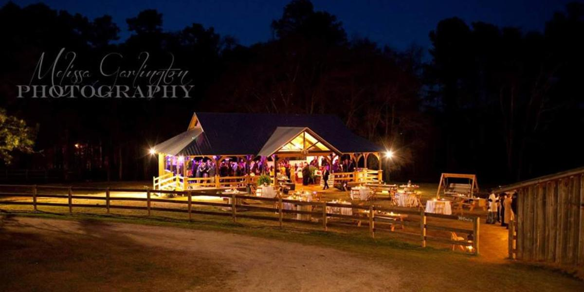 The Barn at Sanderlin Horse Farm wedding Atlanta