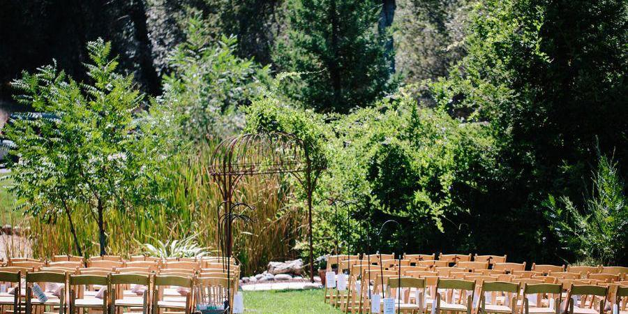 Bella Vista Bed and Breakfast wedding Sacramento