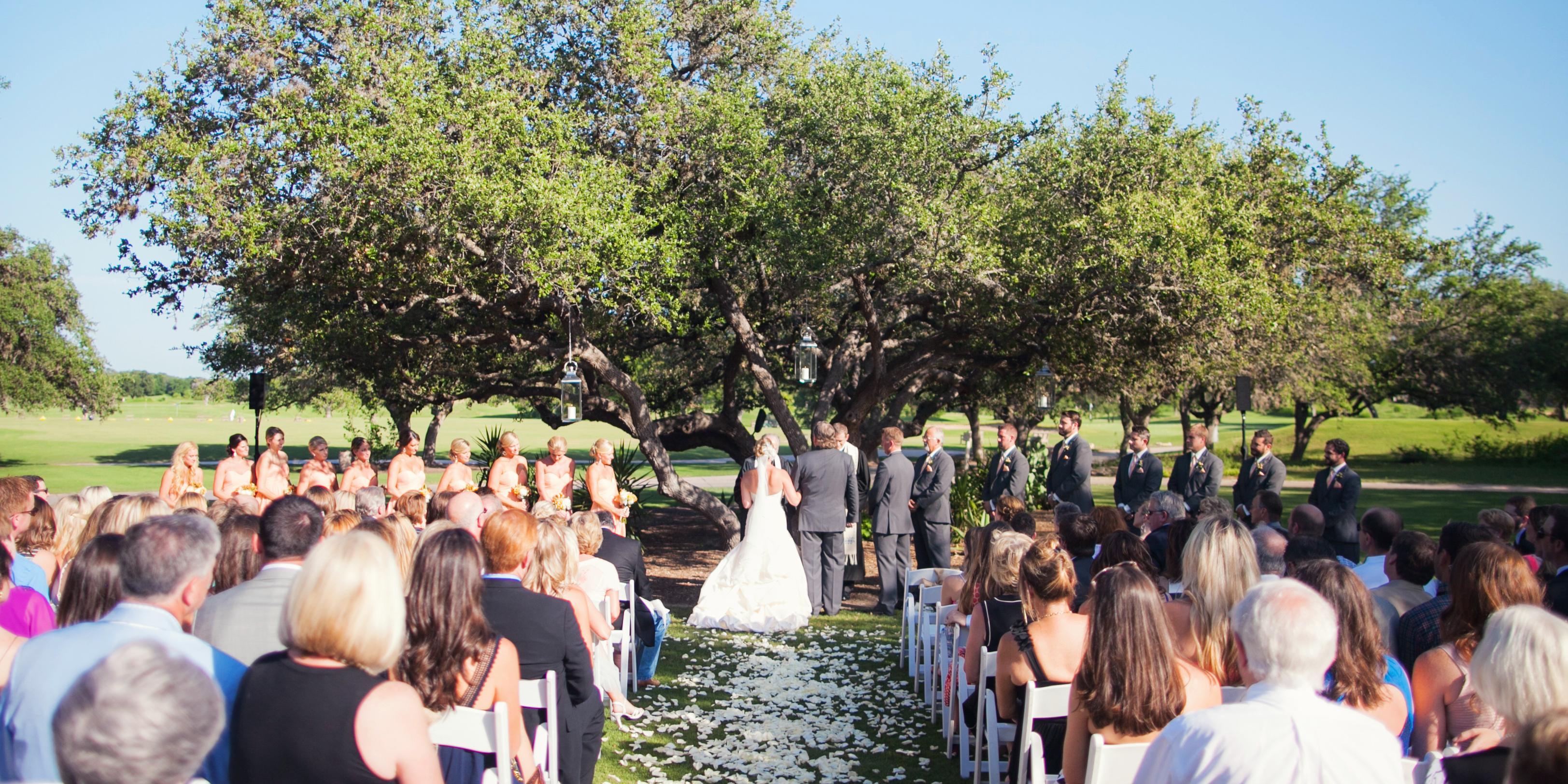 Hyatt Regency Hill Country Resort and Spa wedding San Antonio