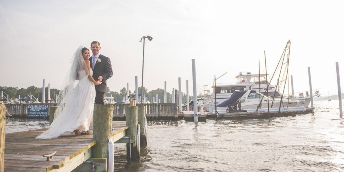 Salt Creek Grille Rumson wedding Jersey Shore