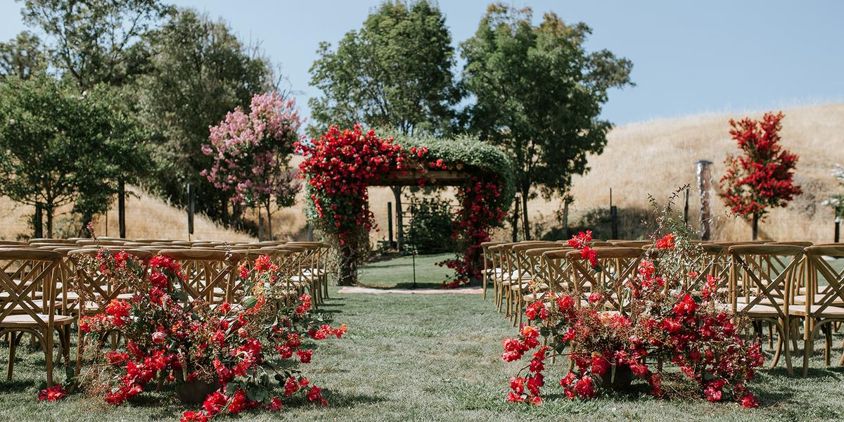 Red Barn Ranch wedding Napa/Sonoma