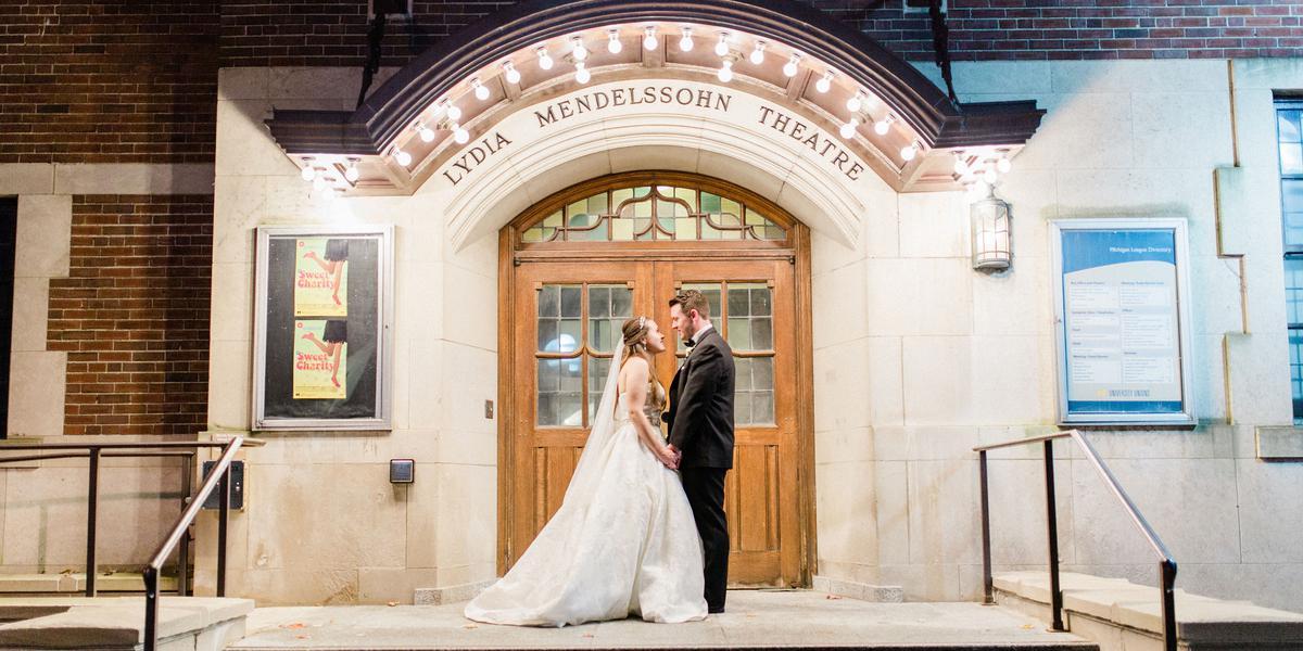 Michigan League - University of Michigan wedding Ann Arbor