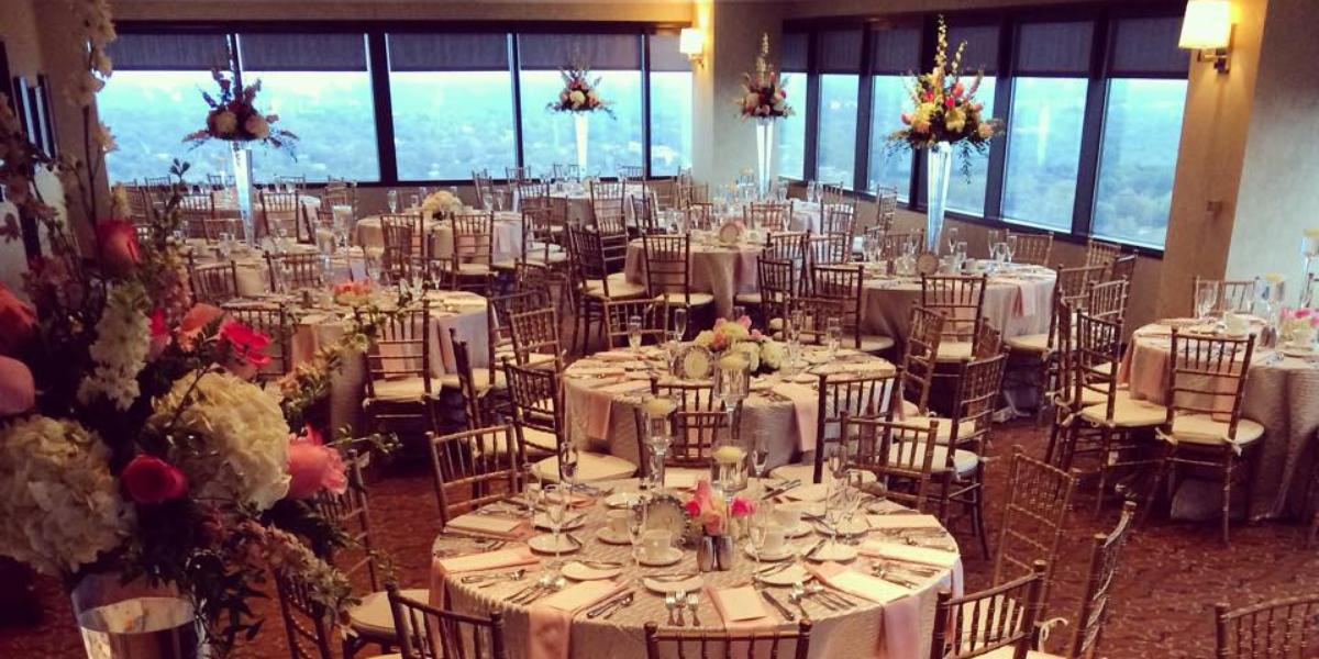 Skyline Club Southfield wedding Detroit