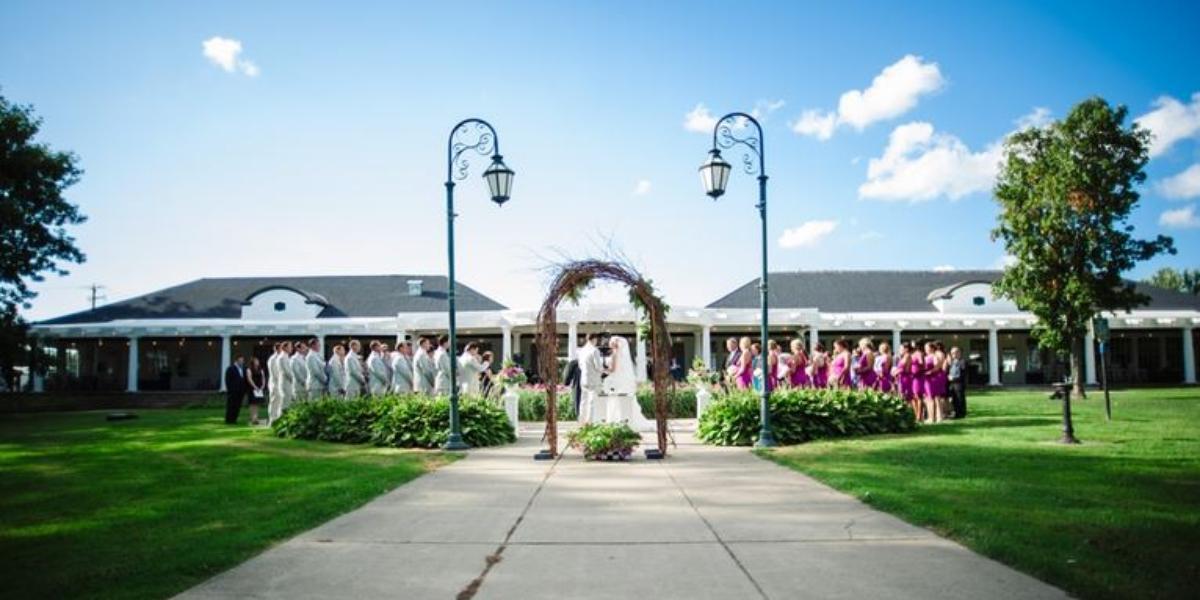 Emerson Park Pavilion wedding Finger Lakes