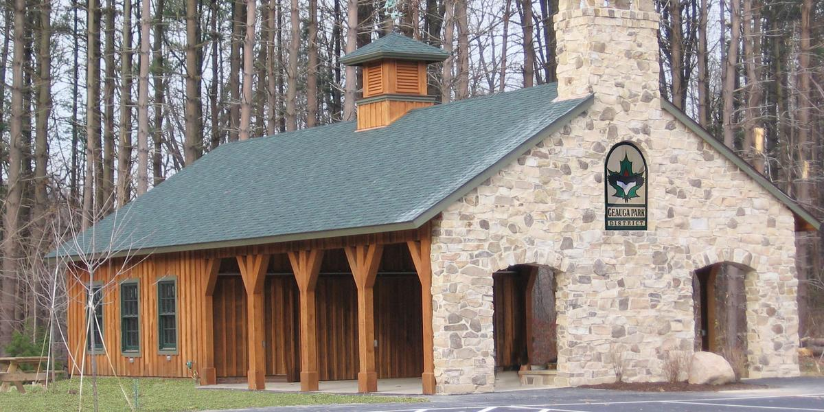 Sunnybrook Preserve Lodge, Geauga Park District wedding Cleveland