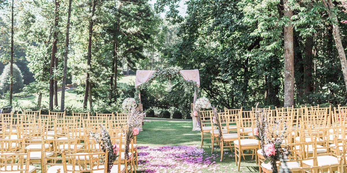 The Country Club of the South wedding Atlanta