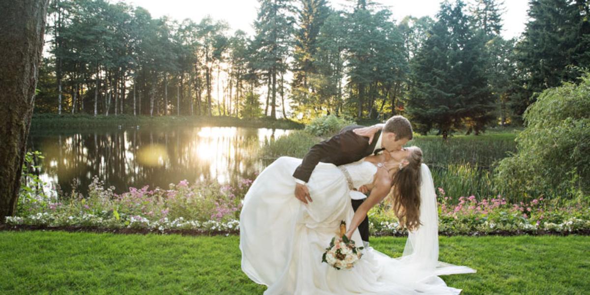 Bridal Veil Lakes wedding Portland