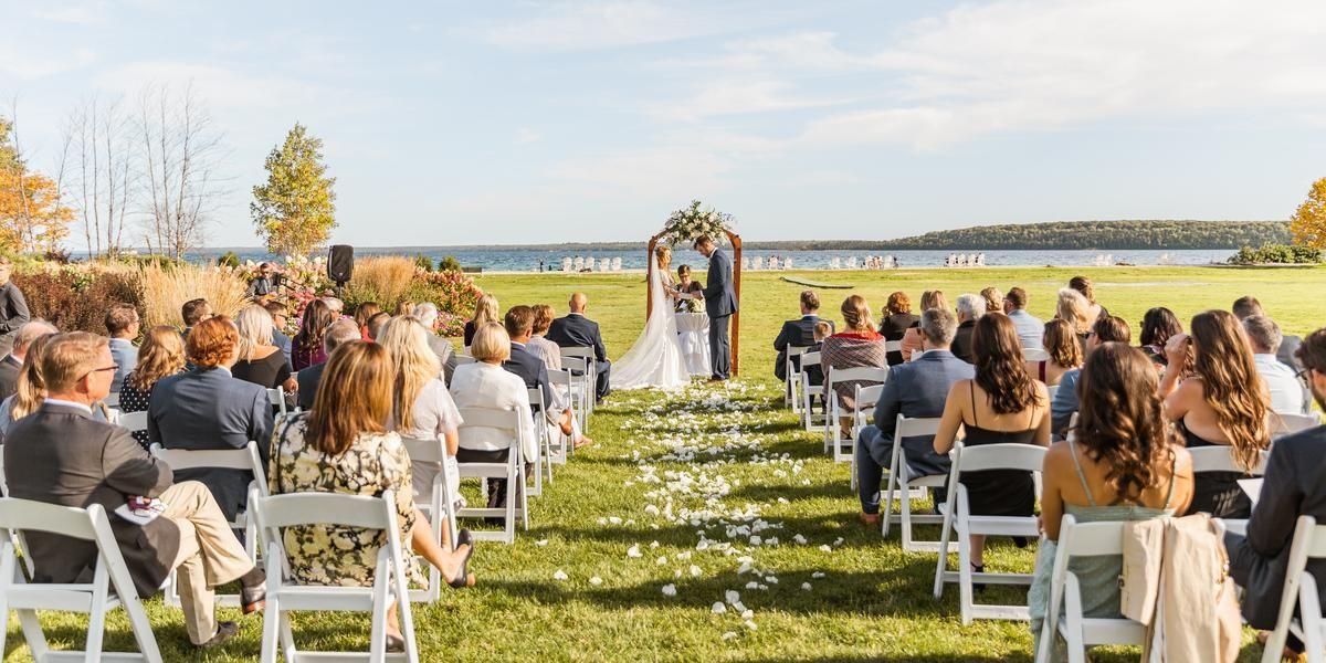 Mission Point Resort wedding Mackinac Island
