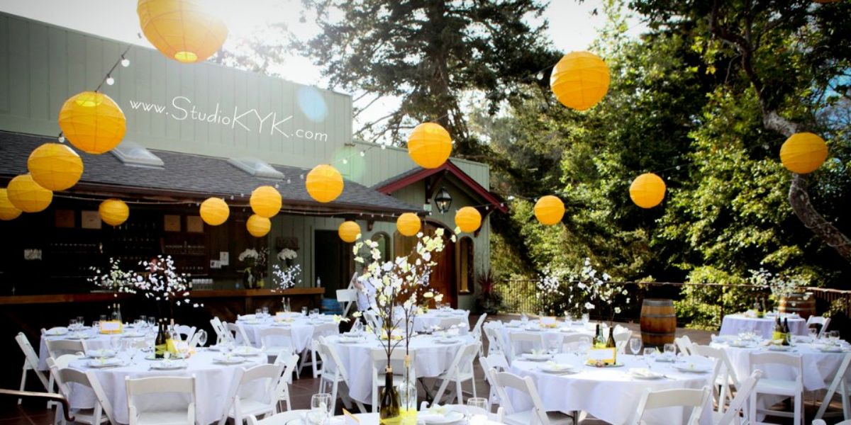 Bargetto Winery wedding Monterey/Carmel Valley