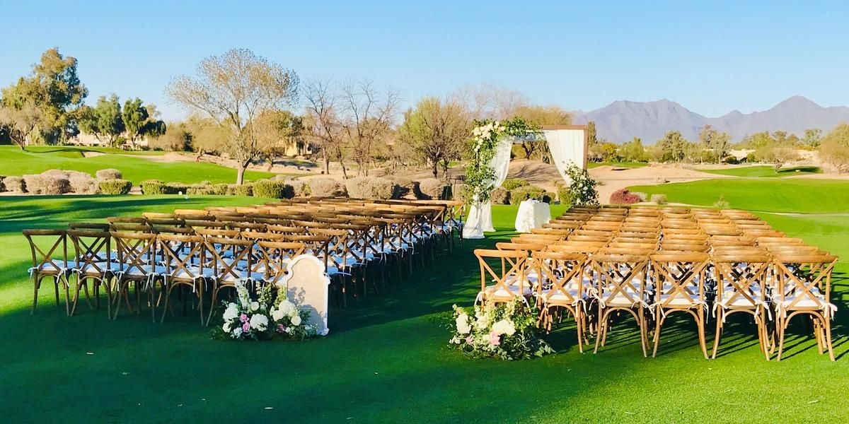 Gainey Ranch Golf Club wedding Phoenix/Scottsdale