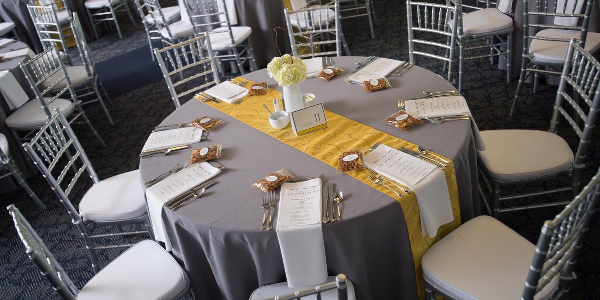 The Conference Center at SVSU wedding Detroit