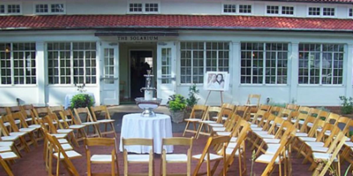 The Solarium at Historic Scottish Rite wedding Atlanta